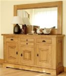 Carnac 3 Door Sideboard With 3 Draws